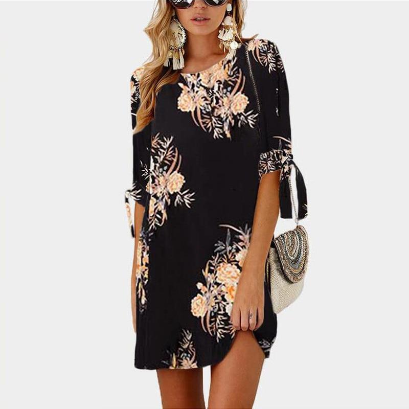 Women's Boho Style Summer Dress